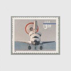 アメリカ 1998年着陸するスペースシャトル額面3.20ドル