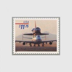 アメリカ 1998年親機上のスペースシャトル額面11.75ドル
