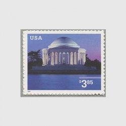 アメリカ 2002年 ジェファソン記念堂額面3.85ドル