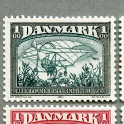 デンマーク 1981年飛行機の歴史4種
