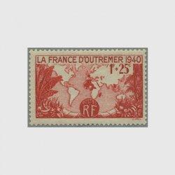 フランス 1940年フランス海外領土
