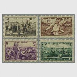 フランス 1940年母国救済4種