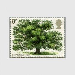 イギリス 1973年イギリスの樹木