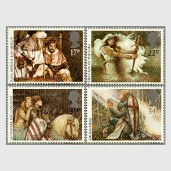 イギリス 1985年アーサー王伝説4種