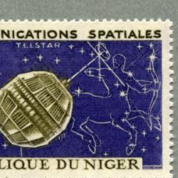 ニジェール 1964年Relay衛星など2種
