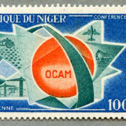 ニジェール 1968年OCAM