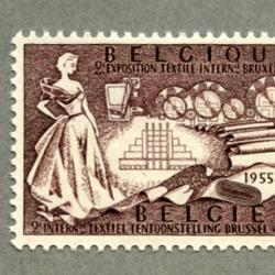 ベルギー 1955年ブリュッセル繊維博覧会