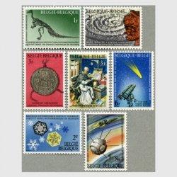 ベルギー 1966年科学遺産7種