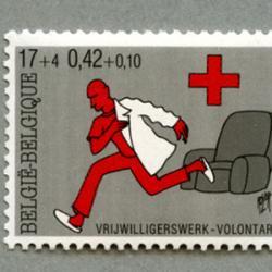 ベルギー 2001年赤十字