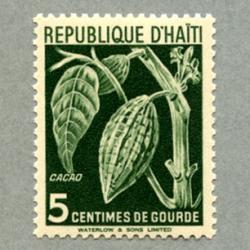 ハイチ 1951年カカオ