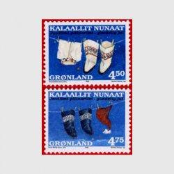 グリーンランド 1998年クリスマス2種