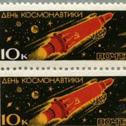 ソ連 1963年宇宙飛行士の日6種