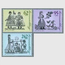 ハンガリー 2007年フォークロア3種