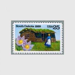 アメリカ 1989年サウスダコタ州100年