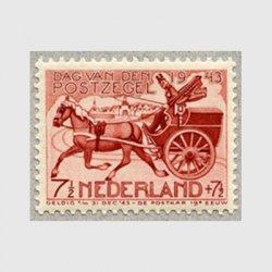 オランダ 1943年19世紀の郵便馬車