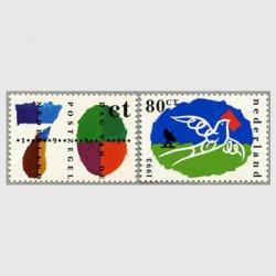 オランダ 1993年切手の日2種