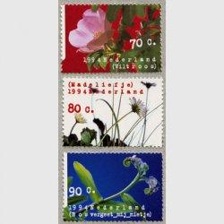 オランダ 1994年ワイルドフラワー3種