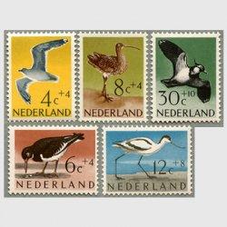 オランダ 1961年鳥5種
