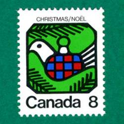 カナダ 1973年クリスマス鳩