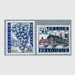 ベルギー 1965年Hoeilaartのブドウなど2種