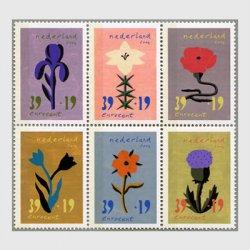 オランダ 2004年花6連刷