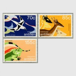 オランダ領アンチル諸島 1987年アンチル諸島国立公園基金25年3種