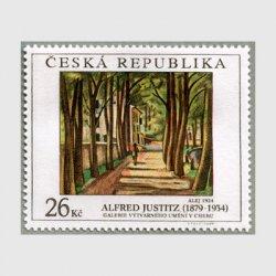 チェコ共和国 2009年Alfred Justitzの作品