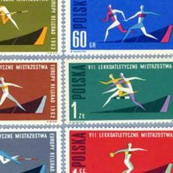 ポーランド 1962年第7回ヨーロッパ陸上競技大会8種