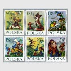 ポーランド 1962年「Orphan Mary」と小人達6種