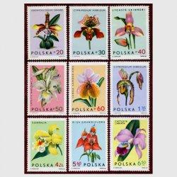 ポーランド 1965年蘭9種