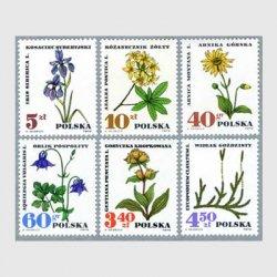 ポーランド 1967年薬草6種※少難品