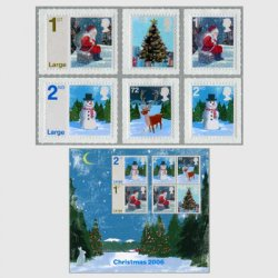 イギリス 2006年クリスマス切手