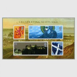 イギリス 2006年スコットランドを祝う小型シート