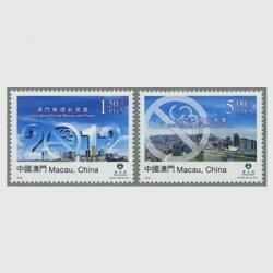 中国マカオ 2012年禁煙法施行2種