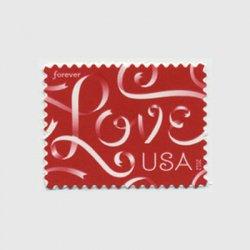 アメリカ 2012年ラブ切手