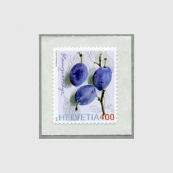 スイス 2006年普通切手プラム