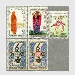 チュニジア 1967年モントリオール万博5種