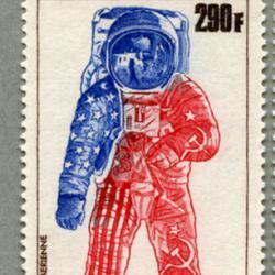 マリ共和国 1975年米ソ宇宙開発協力3種