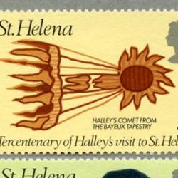 セントヘレナ 1977年天文学者エドモンド・ハレー3種