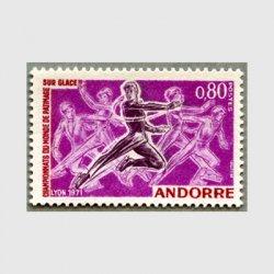 アンドラ(仏管轄) 1971年世界フィギュアスケート大会