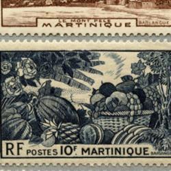 マルティニーク 1947年マルティニークの風景、特産など17種