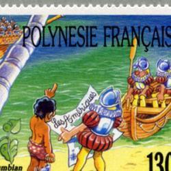 フランス領ポリネシア 1992年新大陸発見500年