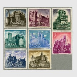 スペイン 1966年城8種