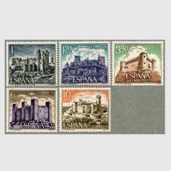 スペイン 1970年城5種