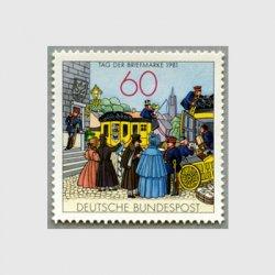 西ドイツ 1981年切手の日