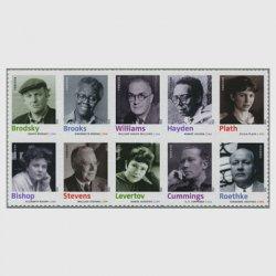 アメリカ 2012年20世紀の詩人10種
