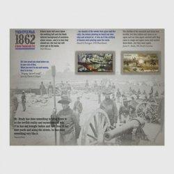 アメリカ 2012年南北戦争ミニチュアシート