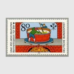 西ドイツ 1983年ビール純粋令450年