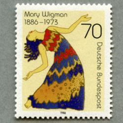 西ドイツ 1986舞踏家Mary Wigman