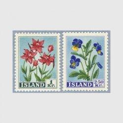 アイスランド 1958年ワイルドパンジーなど2種